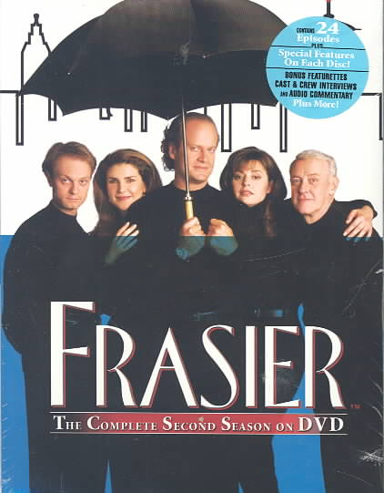FRASIER:COMPLETE SECOND SEASON BY FRASIER (DVD)